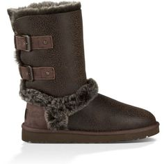 UGG Skylah (320 CAD) ❤ liked on Polyvore featuring shoes, ugg australia, light weight shoes, flexible shoes, ugg® australia shoes and lightweight shoes