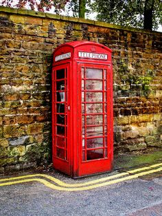 Phone Booth in Nottingham,England