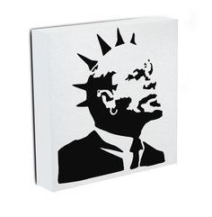 Our Banksy Lenin Punk canvas print, makes a beautiful addition to any room. Comes ready to hang and also available as a poster Banksy Canvas Prints, Best Canvas Prints, Modern Canvas Art, Canvas Wall Art, Public Art, Street Art, Punk, Paintings, Boys