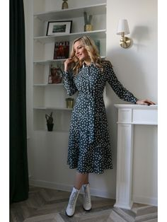 646, Azzara Types Of Fashion Styles, Dresses With Sleeves, Casual, My Style, Spring, Long Sleeve, Vintage, Sleeve Dresses, Long Dress Patterns