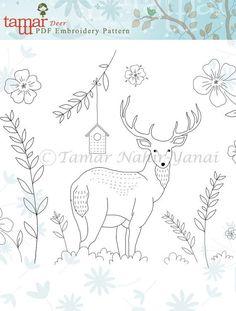 Deer, draw