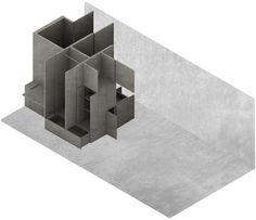 Imagen 1 de 8 de la galería de Hospedería en Herrera del Duque / TEd'A arquitectes. Diagrama 2