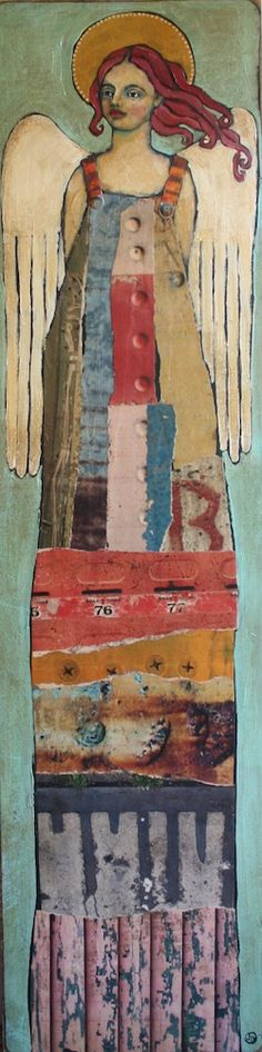 Alpha | Jane DesRosier :: Blog is gone ... so no info avail about whether painted, textiles, etc. ...