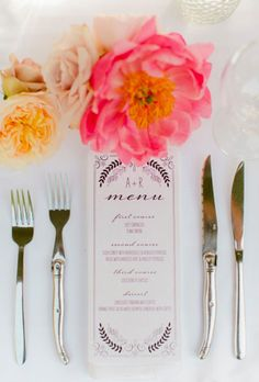 Brides.com: . Offer Delicious Meal Choices. Your guests may not remember the exact details of your floral arrangements or what song you walked down the aisle to, but they'll likely remember what they ate — especially if it was particularly delicious! Choose a menu with tons of tasty options (and one that accommodates common food allergies and dietary restrictions) and your friends and family are sure to leave your reception happy.