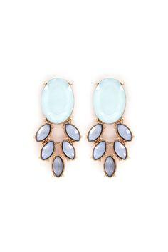 Grace Earrings in Aspen Blue