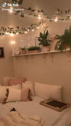 Easy Diy Room Decor, Cute Bedroom Decor, Room Design Bedroom, Teen Room Decor, Room Ideas Bedroom, Home Room Design, Girls Bedroom, Cheap Room Decor, Boy Bedrooms