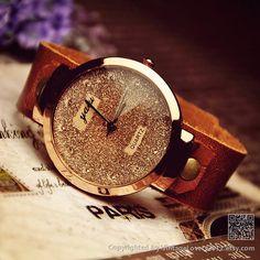 Women's Leather Wrist  Watch
