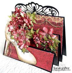 my heart on paper: Flip Fold Shoe - Heartfelt Creations
