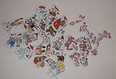 Drobnosti - Set autorských nálepiek-Adventný kalendár - 7489489_