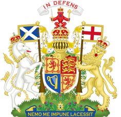 Royal Coat of Arms of Scotland | Description Royal Coat of Arms of the United Kingdom (Scotland).svg