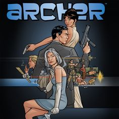 Archer - oh why oh why do I like this show?