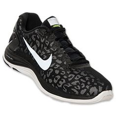Men's Nike LunarGlide 5 Shield Running Shoes  FinishLine.com   Black/Reflective Silver/White