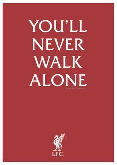 you' ll never walk alone Ynwa Liverpool, Liverpool Fans, Liverpool Football Club, Liverpool Fc Wallpaper, Liverpool Wallpapers, Premier League, Alone Lyrics, This Is Anfield, You'll Never Walk Alone
