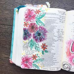 Bekah Blankenship the Habakkuk series at church. Scripture Art, Bible Art, Bible Verses, Cute Bibles, Yes And Amen, Bible Love, Beautiful Disaster, Illustrated Faith, Word Of God
