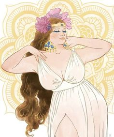 This plus-sized calendar is giving us some major, body positive inspiration