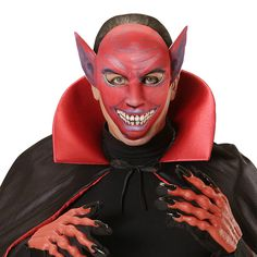 Máscara Diablo #mascaras #antifaces #carnaval