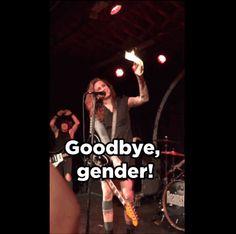Laura Jane Grace Burned Her Birth Certificate Onstage In North Carolina Last Night