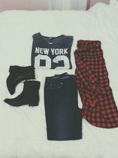 Teenage Fashion Blog: New York Teenage Outfit