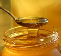 Honey soothes & speeds up the healing process : sore throat, chapped lips, and fever blisters... and helps with sinus congestion (when mixed with apple cider vinegar)