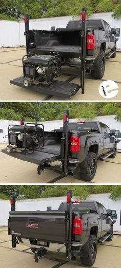 Don't strain your back lifting heavy cargo into your truck bed - let the Ultra-Fab Handy Gate do all of the work. The Handy Gate transforms your tailgate into a lift so that you can easily raise your gear from the ground to your truck bed.