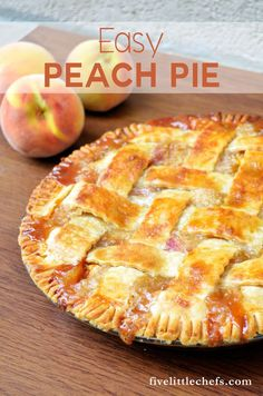 Peach Pie This easy peach pie can be in the oven within 15 minutes. Use fresh peaches and a premade pie crust. Your guests will ask for the recipe!The Guests The Guests may refer to: . Easy Peach Pie, Fresh Peach Pie, Peach Pie Filling, Peach Pie Recipe Frozen Peaches, Recipe For Peach Pie, Recipes With Fresh Peaches, Peach Pies, Fresh Fresh, Crisp Recipe