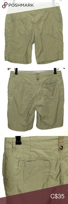 MEC Shorts 4 Green Organic Cotton Blend Stretch MEC Women's Shorts 4 Light Green Organic Cotton Blend Stretch Belt Loops Drawstring Great Condition Measured While Laying in in in Mountain Equipment Co-Op Shorts Mountain Equipment, Green Organics, Stretch Belt, Plus Fashion, Fashion Tips, Fashion Trends, Women's Shorts, Organic Cotton, Closet