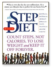 """""""The Step Diet"""" book by James O. Hill, PhD, and John C. Peters, PhD. Softbound, 284 pages, from Workman Publishing."""