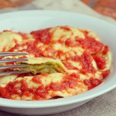 Ravioli alle zucchine senza glutine #senzaglutine