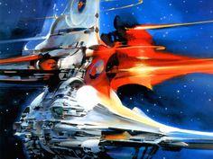 Year V Sci-Fi Art | John Berkey.