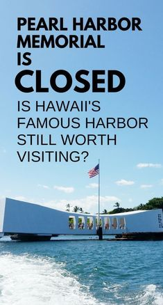 Pearl Harbor Memorial is CLOSED! If you can't visit the USS Arizona Memorial, is Pearl Harbor worth visiting? Top travel bucket list of cheap things to do on Oahu, near Waikiki, Honolulu,Better understand facts of what propelled the US into World War II. Hawaii Vacation, Hawaii Travel, Beach Trip, Beach Travel, Vacation Ideas, Mexico Travel, Spain Travel, Dream Vacations, Italy Travel