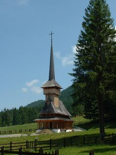 In my country, Romania an old wood church from Maramures county Brasov Romania, Bucharest Romania, Bulgaria, Road Trip Europe, Central And Eastern Europe, Old Churches, Place Of Worship, Beautiful Places, Around The Worlds