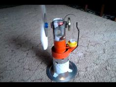 Soda Can stirling engine - YouTube