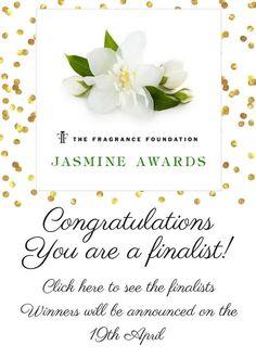 I'm a Jasmine Finalist Again!