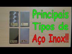 Solda TIG, MIG e Eletrodo - Informativo Técnico - Principais Tipos de Aço Inox - YouTube