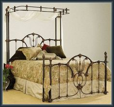 i really wish these beds were still made Canopy Beds For Sale, Iron Canopy Bed, Canopy Design, Toddler Bed, Interior Design, Furniture, Home Decor, Child Bed, Nest Design