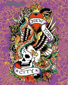 ~ Ed Hardy ~ New York City
