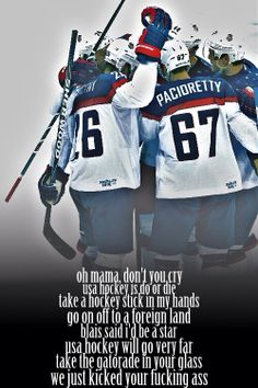 USA Hockey Is Do Or Die
