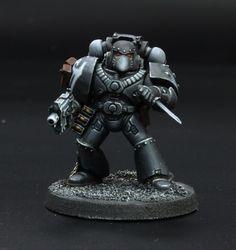Raven guard space marine legionary