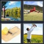 4-pics, 1 word-- could use for Breakout clue word lock...