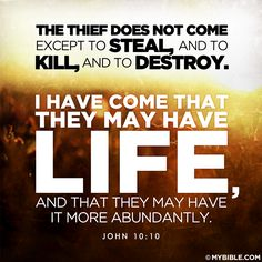 Yeshua = God: Life More Abundantly - Short Study on John 10:10