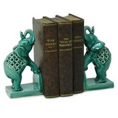 Bookend Elephants