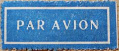 Par Avion Sticker Year before 1957 gummed Stickers, Airmail, Stamps, Home Decor, Planes, Seals, Decoration Home, Room Decor, Postage Stamps