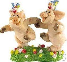 Piggin Collectors Figurine - Hand In Hand