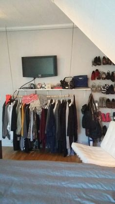 Oppbevaring Wardrobe Rack, Furniture, Home Decor, Decoration Home, Room Decor, Home Furniture, Interior Design, Home Interiors, Interior Decorating