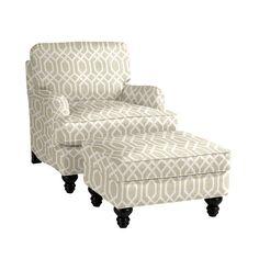 Eton Club Chair & Ottoman