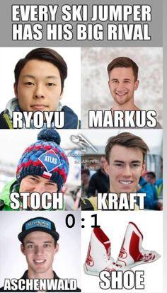 Ski Jumping, Skiing, Lol, Memes, Sports, Funny Stuff, Ship, Ski, Hs Sports