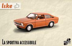 #Opel Kadett Coupè #Auto Vintage