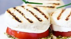 Adorable caprese sandwiches...on the grill!