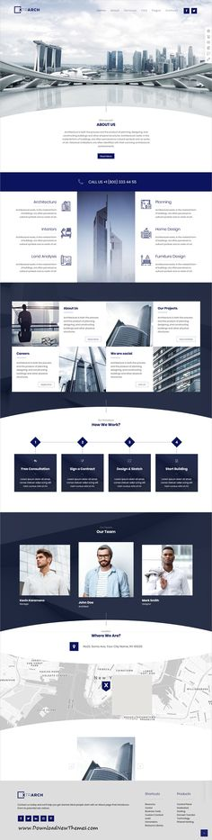 Xtra is clean and modern design responsive multipurpose #WordPress theme for stunning #architect #studio #website with 30+ niche homepage layouts to download & live preview click on image or Visit