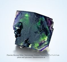 Fluorite Okoruso Mine, Otjiwarongo District, Namibia
